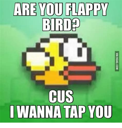 Flappy Bird Tap Tap 25 best memes about flappy bird flappy