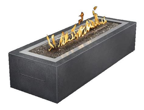 Gas Outdoor Firepits Patioflame Linear Pit Gas Outdoor Pit S Gas