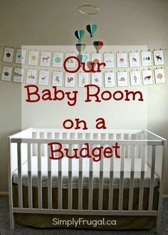 How To Decorate A Nursery On A Budget Baby Room On Pinterest Kid Wall Nursery Wall And Nursery