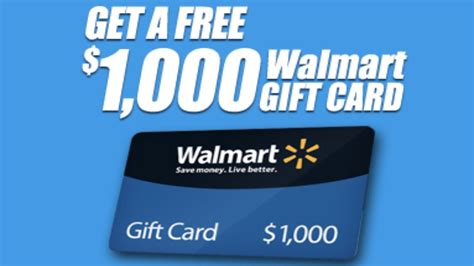Walmart 1000 Gift Card Confirmation - simple way to get a walmart 1000 gift card youtube