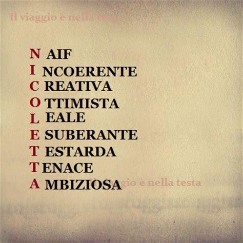 significato delle lettere dei nomi significato delle lettere tuo nome nicoletta