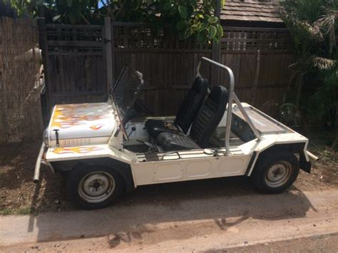 A New Sort Of Mini Moke by Classic 1973 Mini Moke One Of A For Sale In Kihei