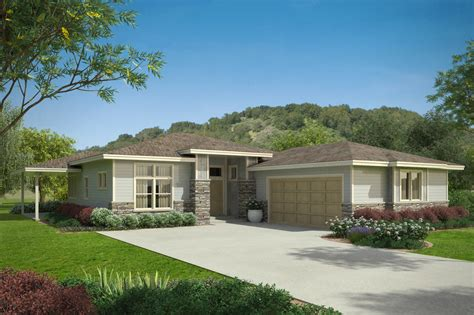 praire style homes prairie style house plans arrowwood 31 051 associated