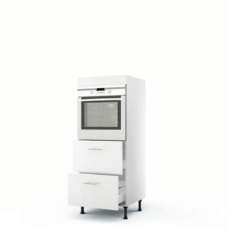 Formidable Element De Cuisine Leroy Merlin #5: meuble-de-cuisine-demi-colonne-blanc-four-2-tiroirs-rio-h-140-x-l-60-x-p-56-cm.jpg