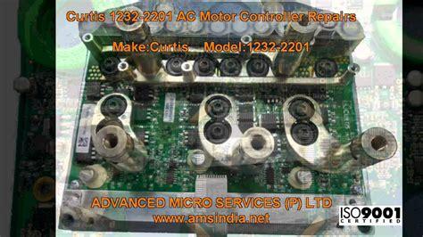 curtis   ac motor controller repairs  advanced