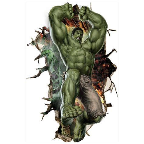 avengers marvel posters super heros hulk  broke wall