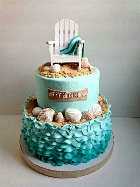 themed birthday cakes soweto best 25 beach birthday cakes ideas on pinterest sand cake