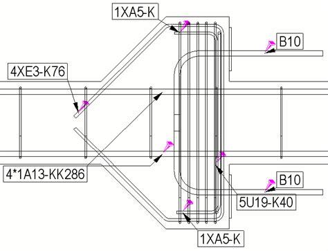 Corbel Definition Place Reinforcement Leader Line Base Point