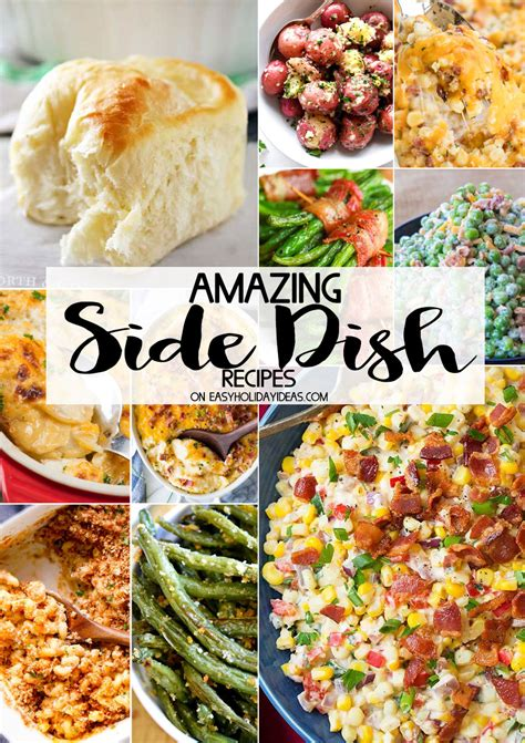 side dishes recipes amazing side dish recipes easy ideas