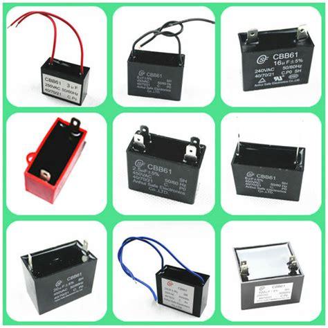 capacitor cbb61 sh sh capacitor cbb61 of ac motor for fan use china mainland capacitors