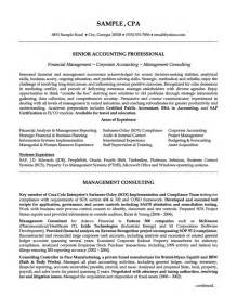 Consent Letter Accounting senior accounting professional resume latest resume format