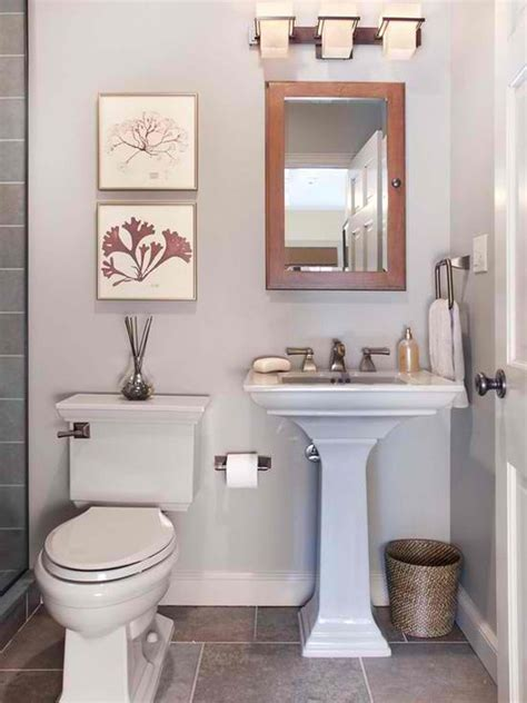 decorating ideas for small bathrooms 20 fascinating bathroom pedestal sinks home design lover