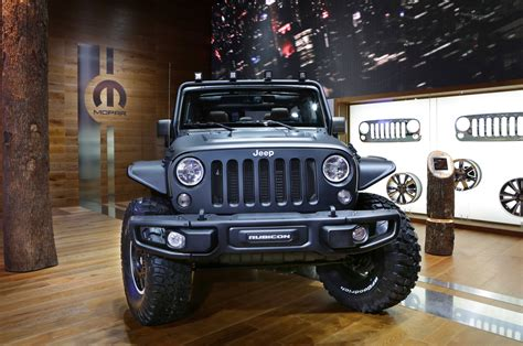 2015 Jeep Wrangler Concept 2015 Jeep Wrangler Unlimited Rubicon Stealth Concept 2 Photo 4