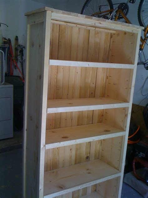 ana white bookcase  woodworking