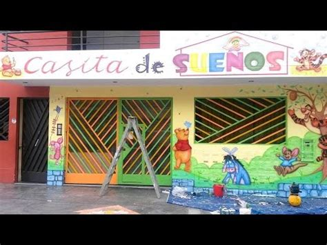 decoracion de guarderias como decorar guarderias pintar mural en fachada de
