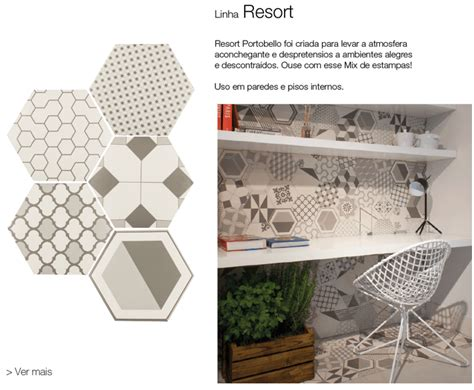 piso hexagonal portobello revestimento hexagonal dicas e tend 234 ncias blog portobello