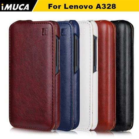 Lenovo A328t Flip Cover Flip for lenovo a328 leather cover for lenovo a328 a328t