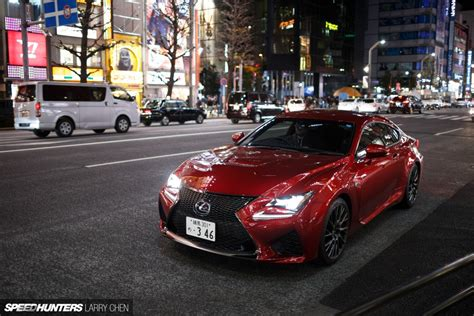 lexus rc f stance the lexus rc f means business speedhunters