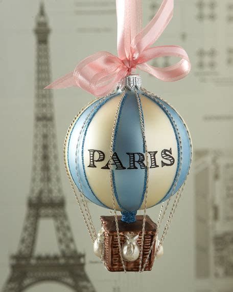 christmas crafts for kids from paris cortina air balloon ornament