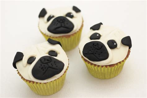 pug cupcakes buttercream archives cakey goodness