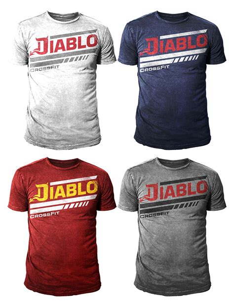 design a crossfit shirt playful modern t shirt design for diablo fitness