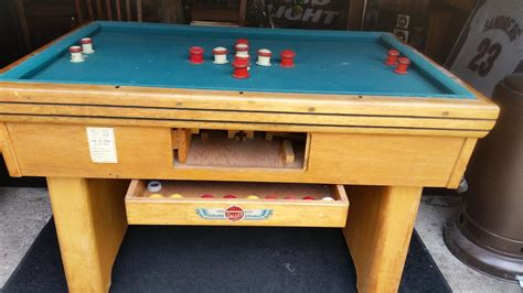 find   cool bumper pool table wall balls  valley mfg corp bay city michigan  sale