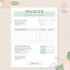 invoice design themeforest wedding flower invoice template joy studio design