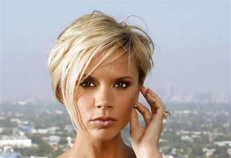 short hairstyles photo gallery victoria and david beckham hairstyles april 2009