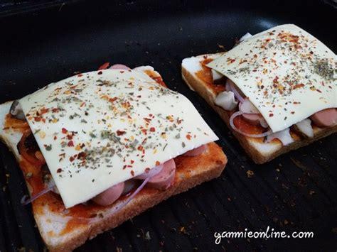cara membuat pizza roti gardenia resepi pizza roti gardenia mudah dan sedap yanmieonline