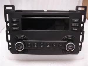 2007 Pontiac G6 Radio 2004 2005 2006 2007 2008 Chevy Malibu Pontiac G6 Radio Cd