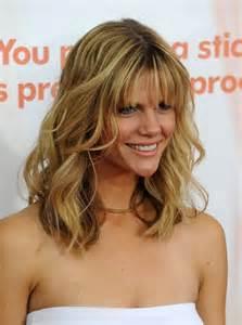 Picture of brooklyn decker layered wavy hairstyles brooklyn decker