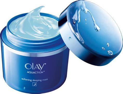 Masker Wajah Olay produk olay aquaction pastikan kulit sentiasa lembap