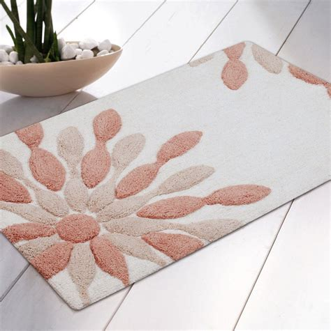 peach bathroom rugs bath rugs at target minimalist bathroom with rectangular