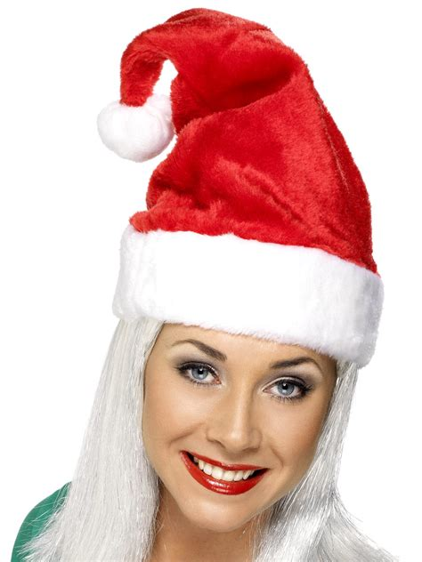 adult luxury santa hat 21441 fancy dress ball