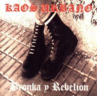Kaos Ramones 01 discografia kaos urbano comunidad secundarios