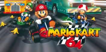 Mario kart 64 nintendo 64 jeux nintendo