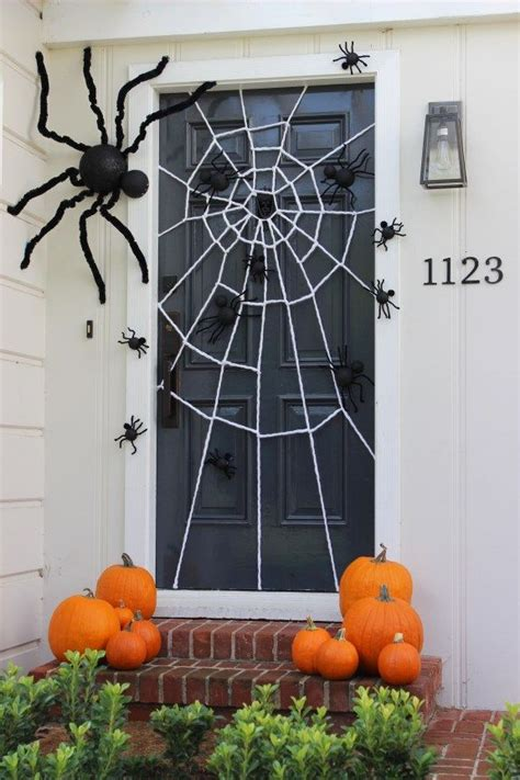 decorating with spider webs for 25 best ideas about door decorations on