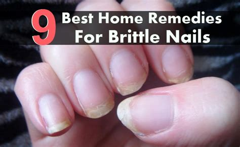 7 Remedies For Fragile Fingernails by Weak Home Remes Ftempo