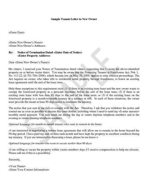 Letter To Tenant For New Lease Best Photos Of New Tenant Notice Letter Template Lease Termination Letter From Tenant Letter