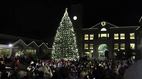 tcu tree lighting 2017 tcu christmas tree lighting 2009 youtube