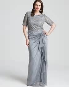 wishlist tadashi shoji plus size cocktail and evening dresses
