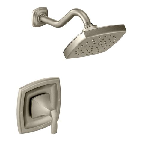 Brushed Nickel Shower Fixtures by Faucet 435bn In Brushed Nickel By Moen