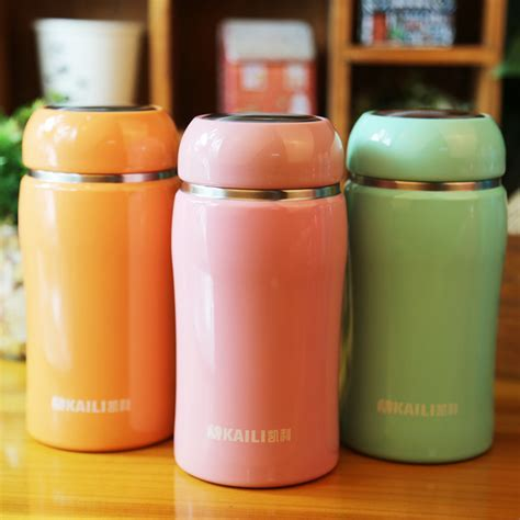 Colorful Thermos 350ml color thermos for baby food thermos mug vacuum cup food vacuum flask