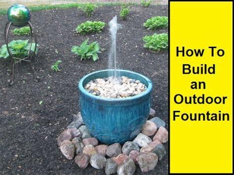 outdoor fountain youtube