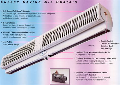 parts of curtains whispurr air air curtain door air curtains air doors