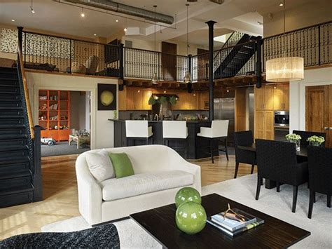 cool loft apartment decorating ideas industrial