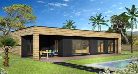 Villa Prisme Plan De Cagne by Construction Villas Bois Constructeur De Maison Bois