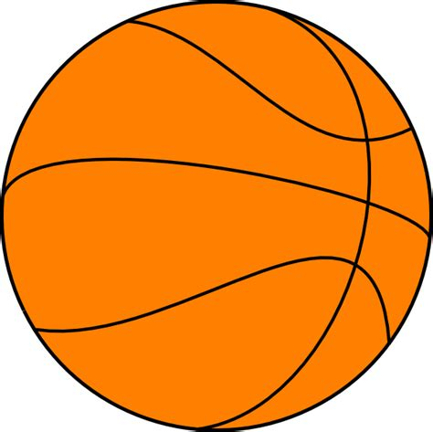 basketball clipart big basketball clip at clker vector clip