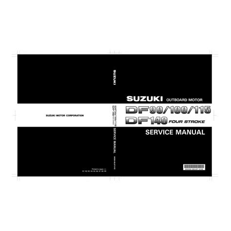 Suzuki Df90 manuel suzuki df90 df100 df115 df140