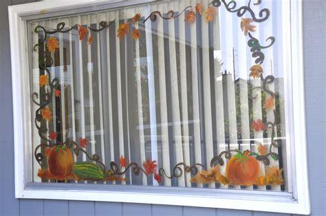 Fenster Bemalen Herbst by Watercolors By Jen Window Painting